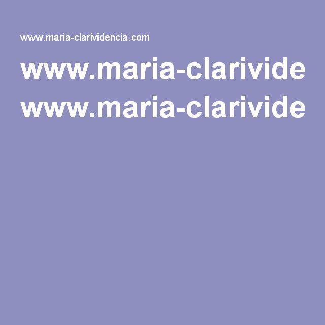 Www Maria Clarividencia Com Lectura De Tarot Tarot Lectura