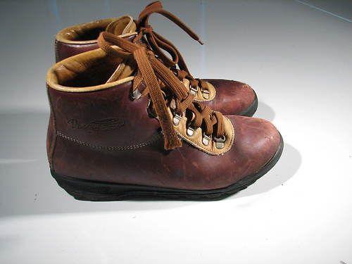 VTG Vasque Sundowner ITALY 90's GoreTex Hiking Boots Mens ...