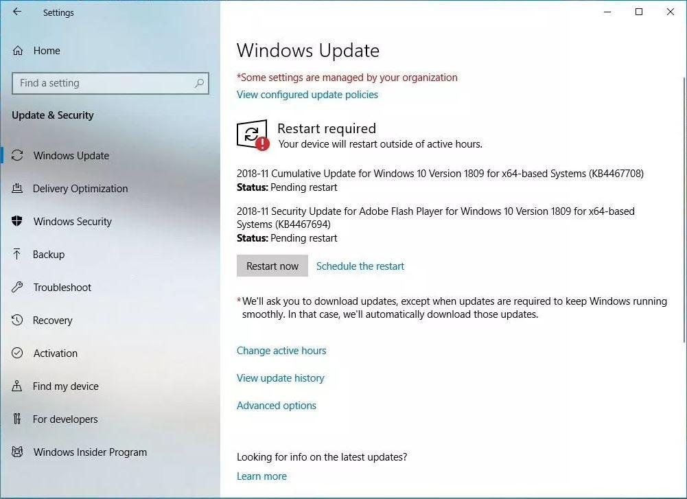 Windows 10 Cumulative Update KB4467708 (OS Build 17763 134
