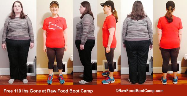 raw food diet weightloss