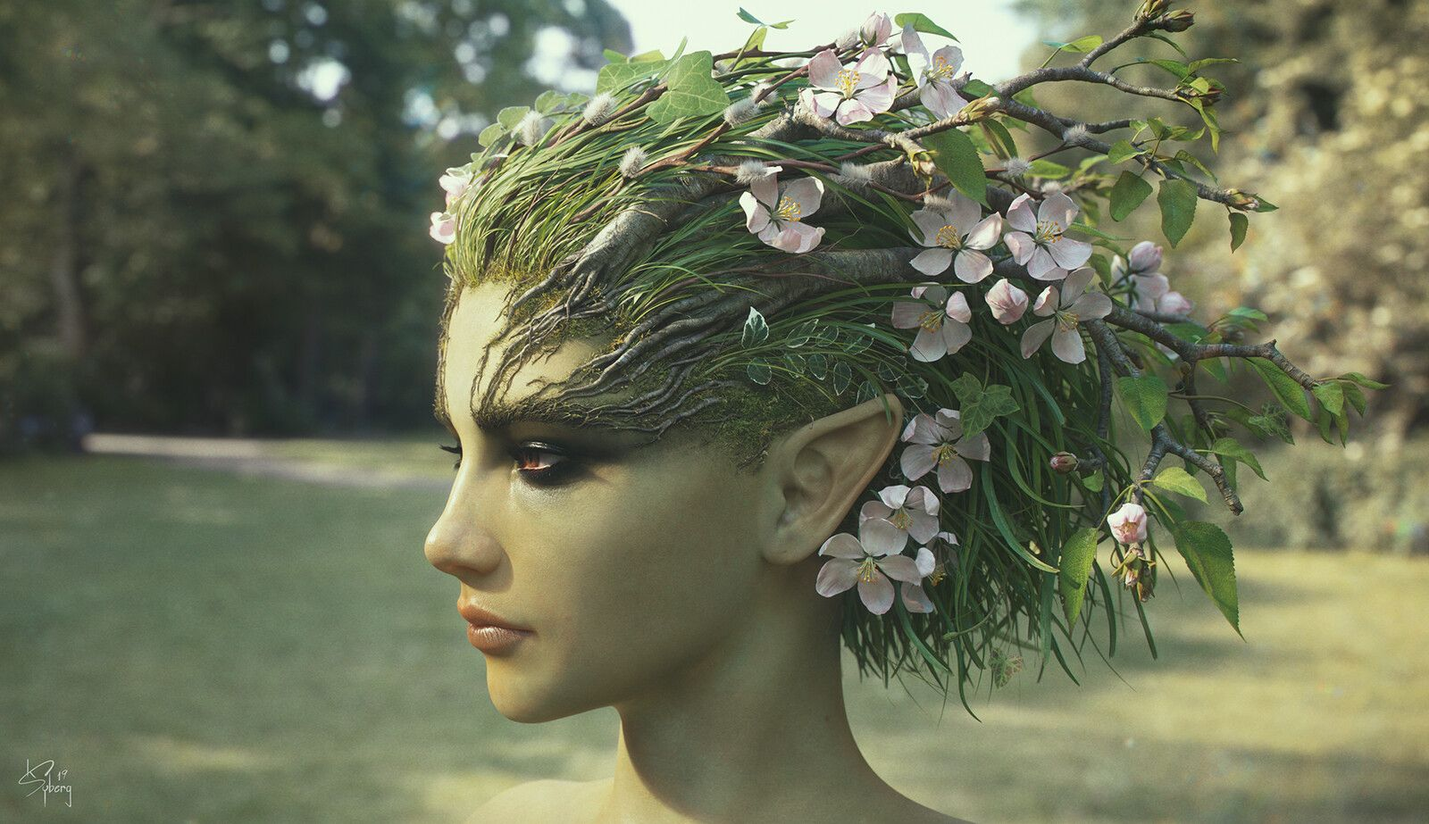 Photo of Dryad, Kim Syberg