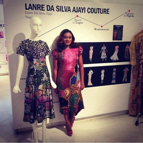 Nigerian Designer Lanre Da Silva Previewed her Spring Summer 2015 Collection in Milan | FashionGHANA.com (100% African Fashion)