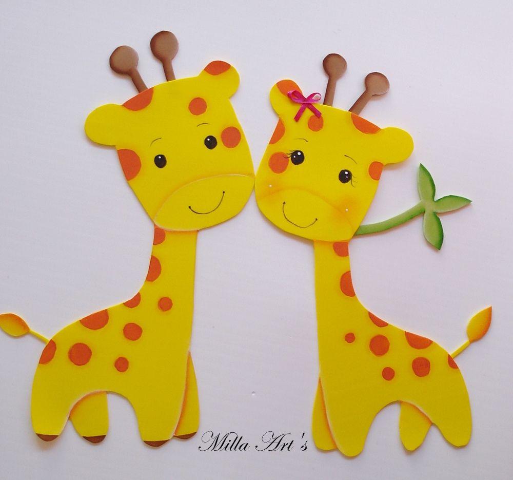 girafa em eva - Pesquisa Google | PARA O MEU PIPOCA | Pinterest | Kind