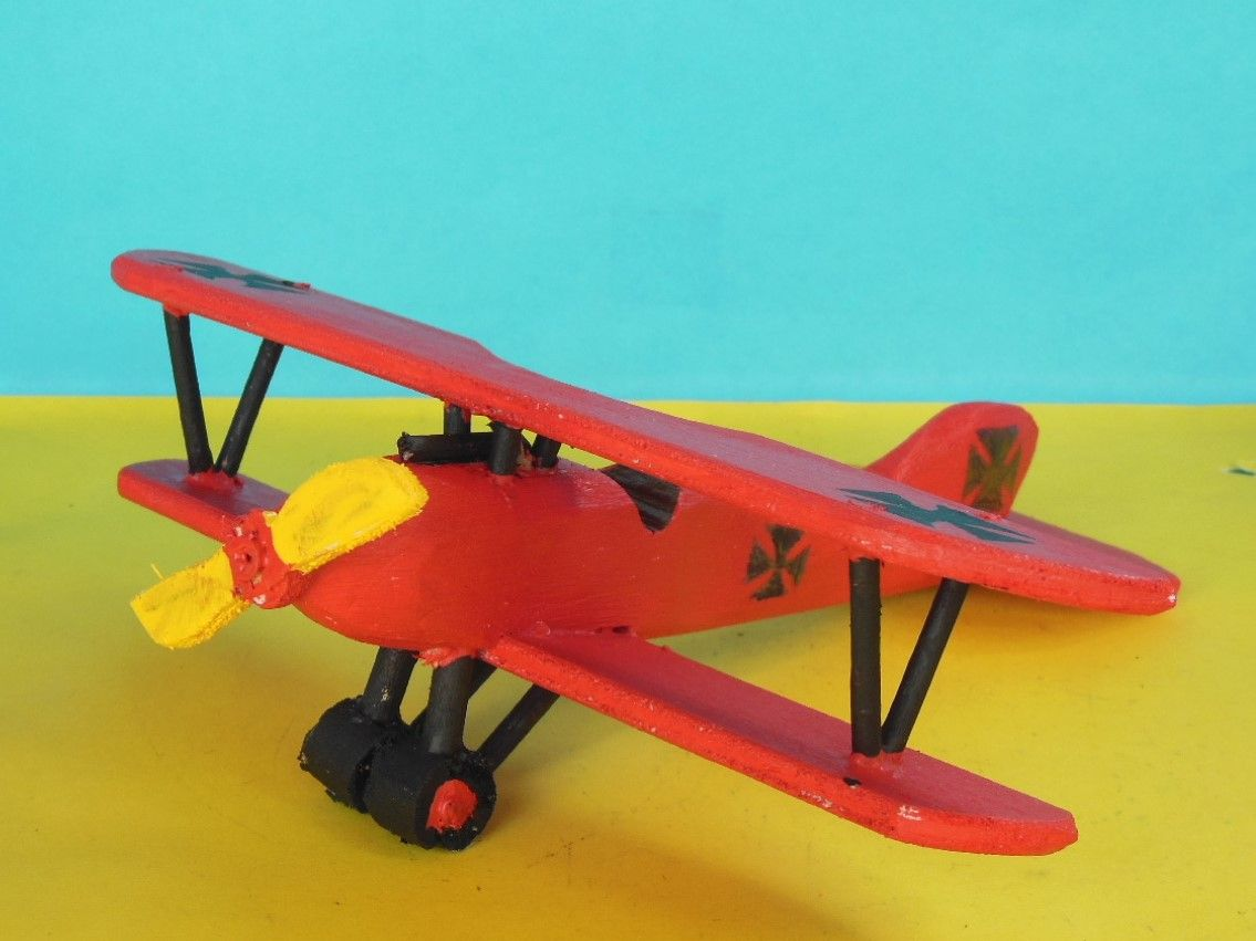 wooden albatros d.iii toy airplane available at