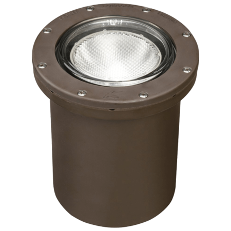 Kichler Led Ground Light Canister In Ground Well Lights Well