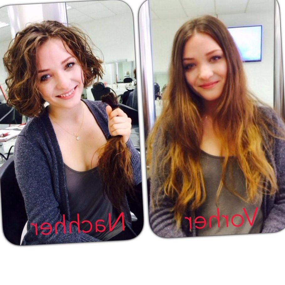Lange Haare Kurz Schneiden Frisuren Trendfrisuren2019 Frisurideen