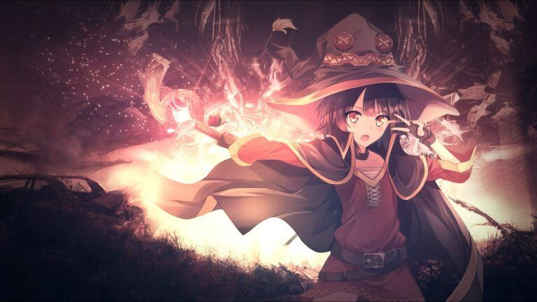 Megumin Arch Wizard 60FPS Anime Live Wallpaper ...