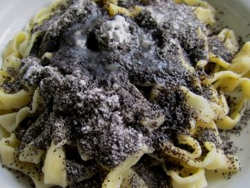 Photo of Homemade noodles with poppy seeds