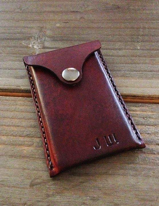 Leather Business Card Holder Card Wallet Personalized Etsy Leather Business Cards Leather Business Card Holder Leather Handmade