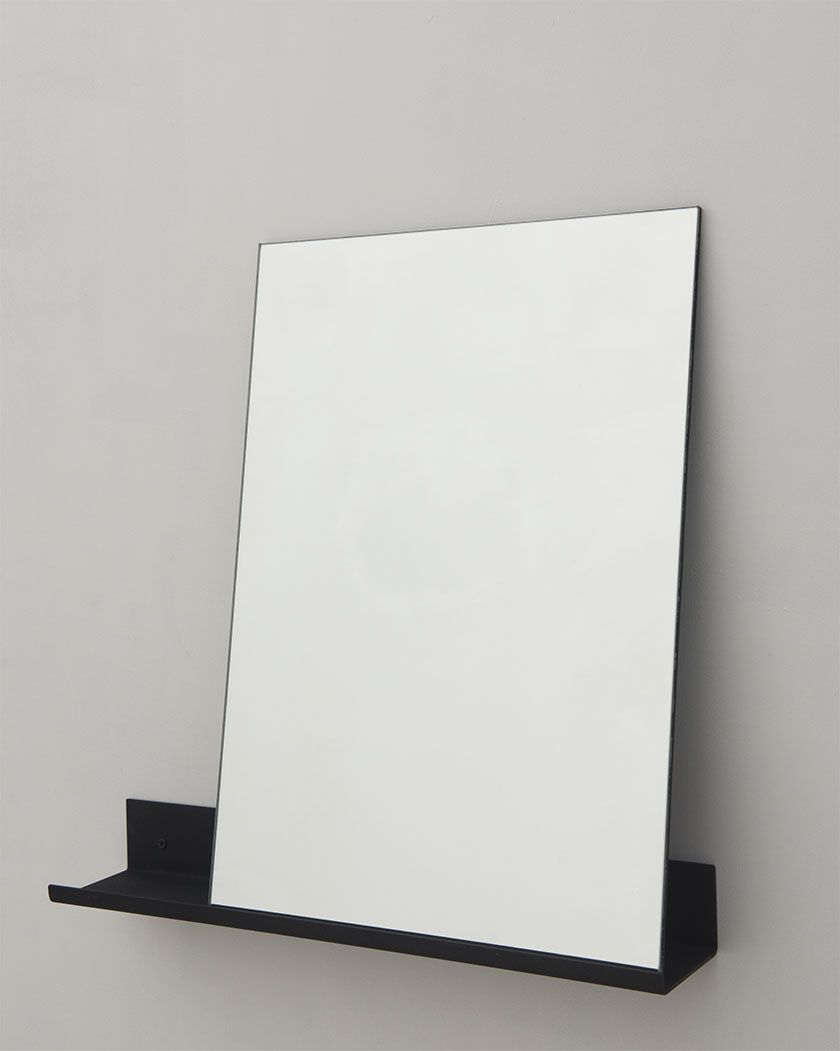 MS-1 Mirror | Coated Aluminium / Mirror | Design by Tobias Tøstesen | Produced by Frama | Photographed by Michael Falgren