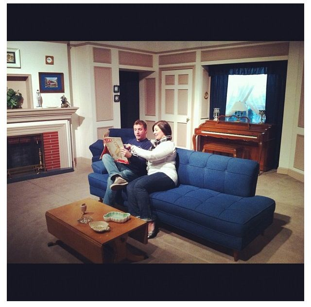 Replica Of The I Love Lucy Living Room At The Lucy Museum