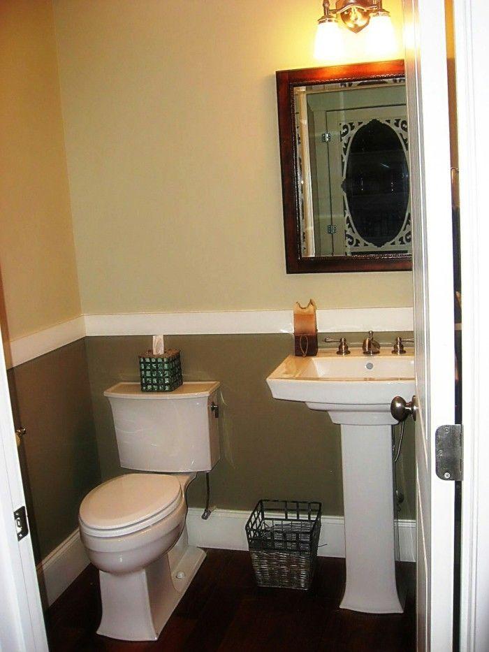 pareti-bagno-due-colori-tortora-ocra-striscia-bianca-sotto-mezzo ...