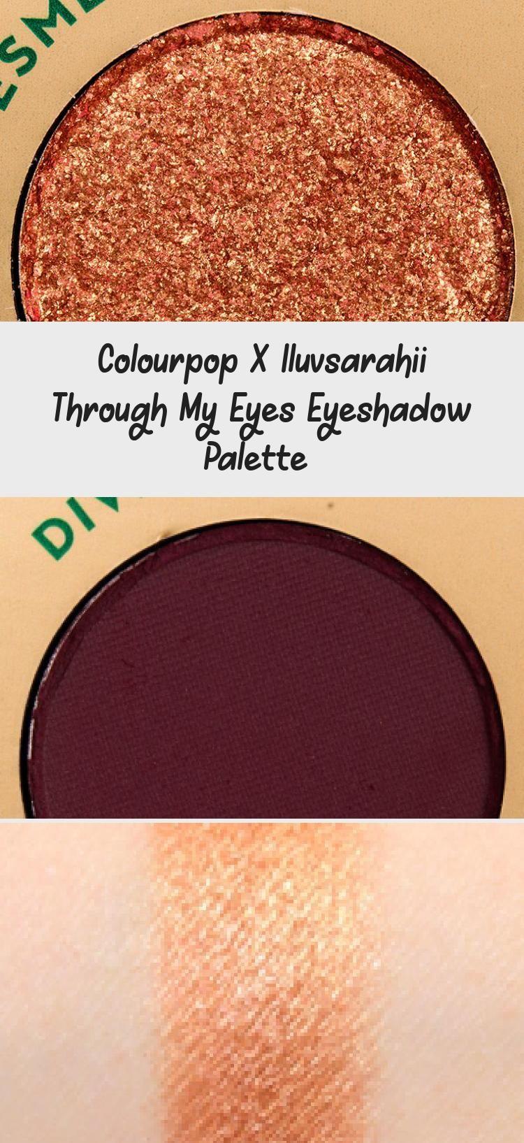 Photo of Colourpop X Iluvsarahii Through My Eyes Eyeshadow Palette  – Eye Makeup