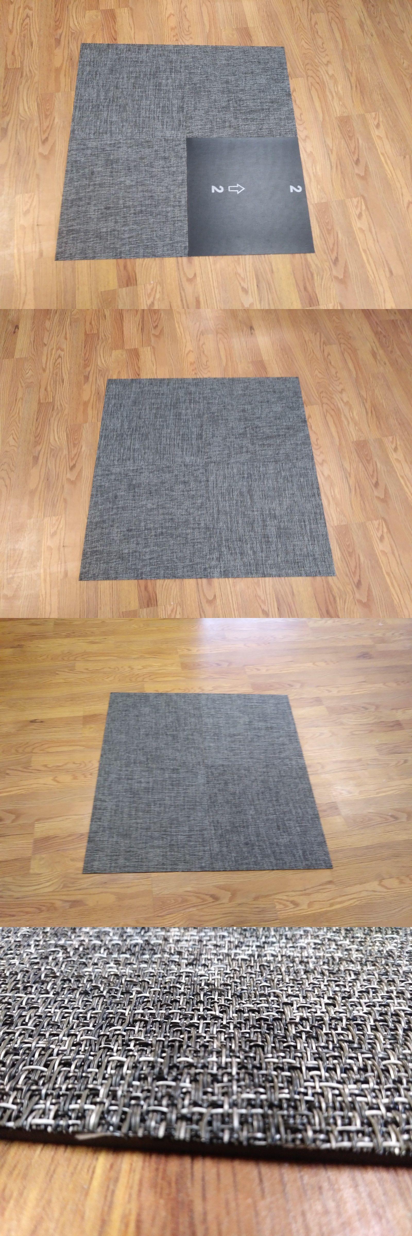 Carpet Tiles 136820 Chilewich Boucle Grey Vinyl Woven Floor Tile