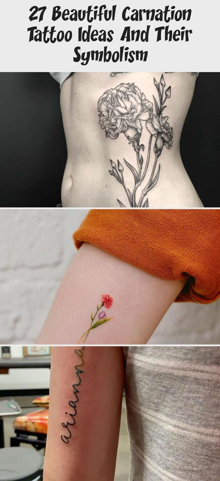 Photo of 27 Beautiful Carnation Tattoo Ideas And Their Symbolism – Tattoos