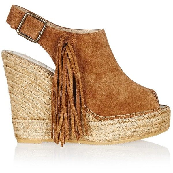 MACARENA Sara Shoe (1.565 ARS) ❤ liked on Polyvore featuring shoes, camel,