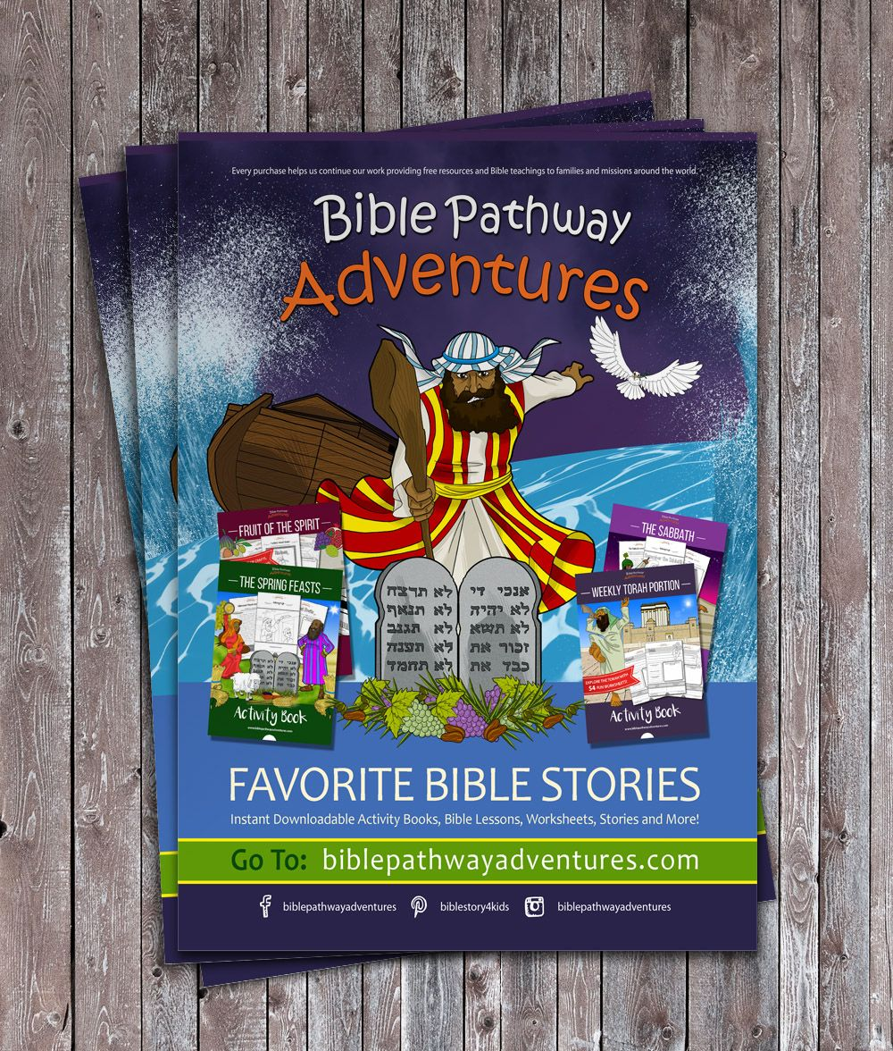 Bible story lesson plans and Bible activities for FREE download