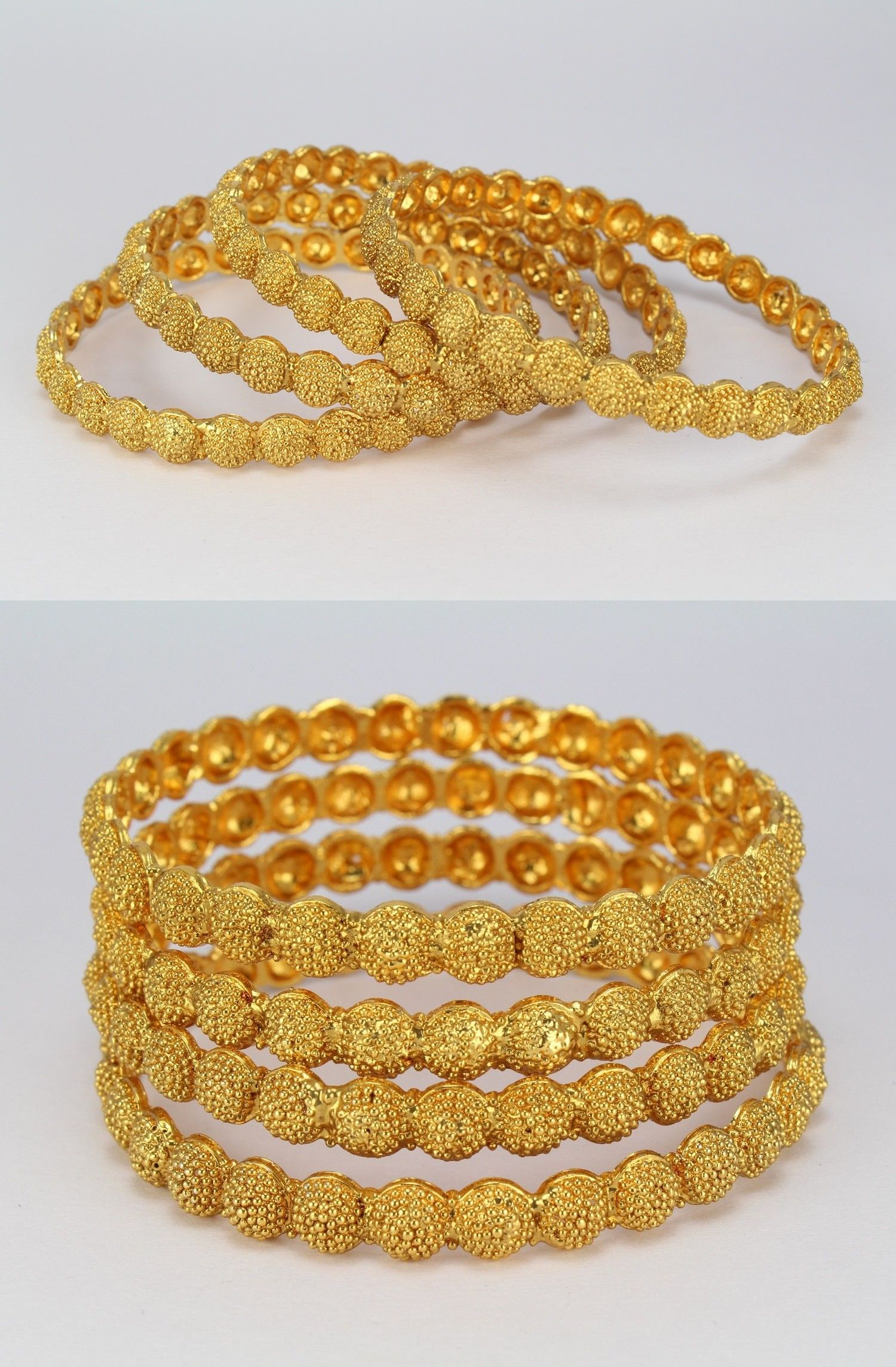 Bracelets 98509 24ct gold plated indian handmade real