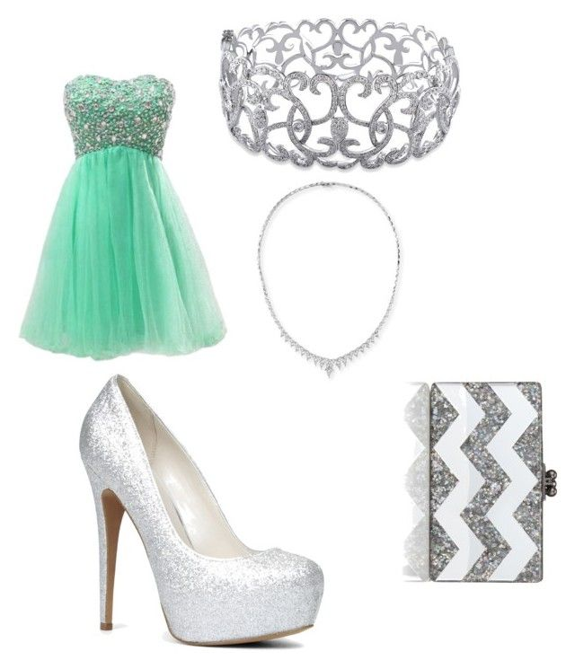 """""""prom 2015"""" by theyenvy-jorii ❤ liked on Polyvore featuring ALDO, Ice, Stephen Webster, Edie Parker, women's clothing, women, female, woman, misses and juniors"""