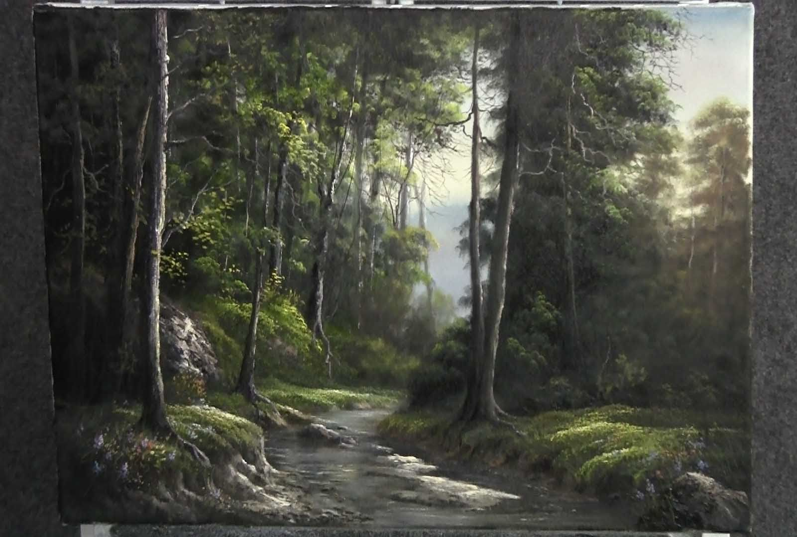 Paint With Kevin Hill The Forest River Kevin Hill Paintings Landscape Paintings Youtube Art