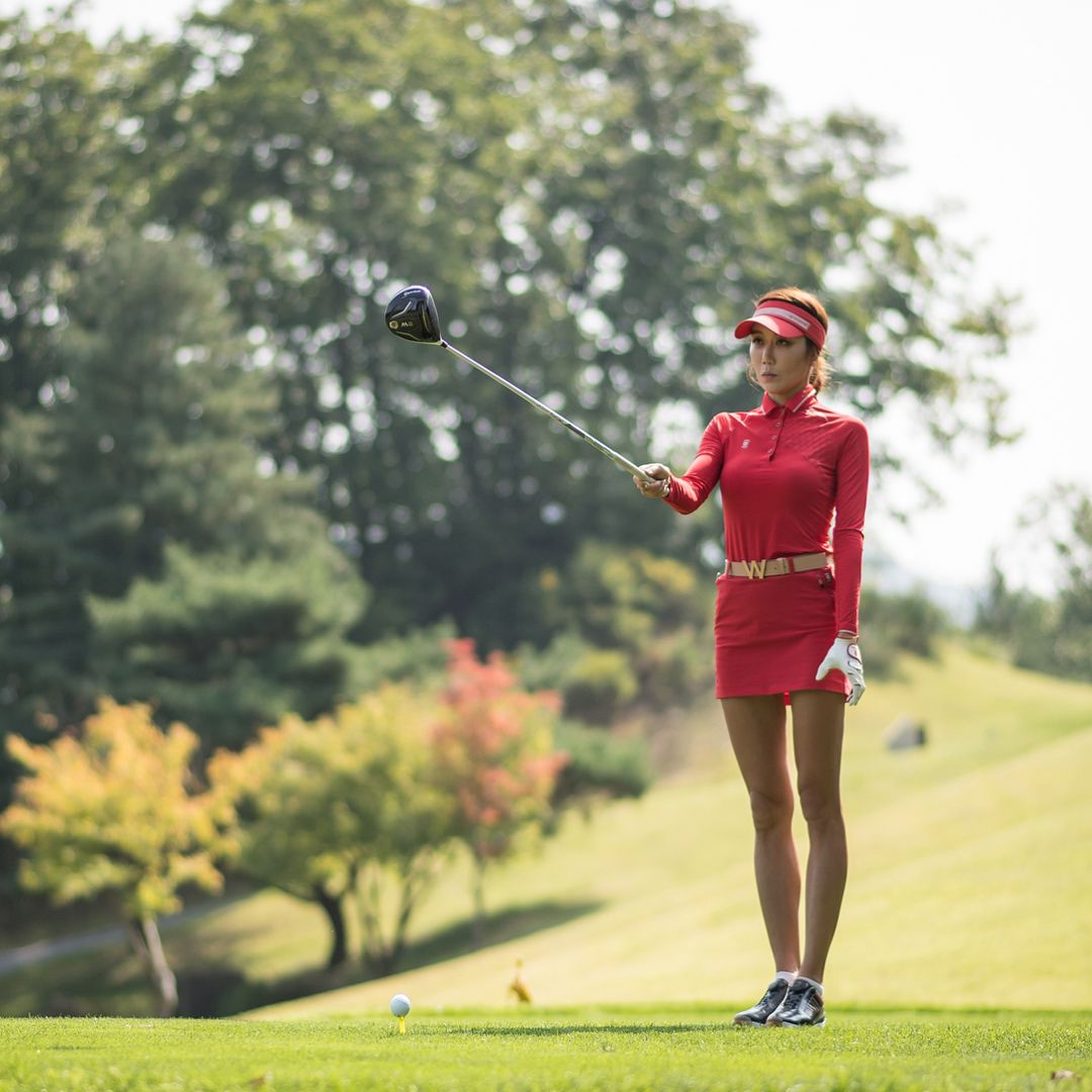 Pin By Mike Gibson On Golf Golf Inspiration Ladies Golf Golf Academy