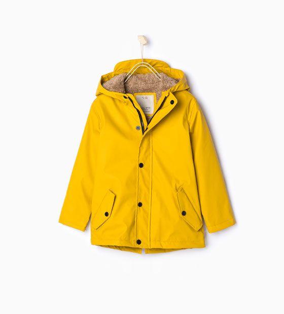 0517f5391b251 Waterproof fleece parka from Zara   the son(s)   Toddler boy outfits ...