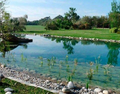 Lagos artificiales y deportivos piscinas ecol gicas for Plastico para lagunas artificiales