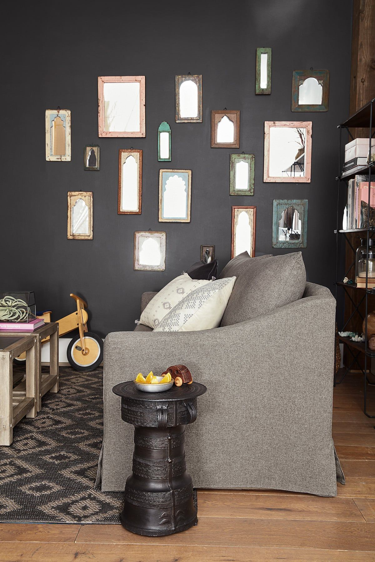 Living Room Decorating Ideas Feature Wall #homedecorblog
