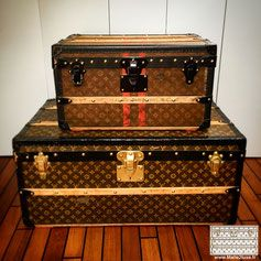 achat vente expertise malle ancienne vuitton goyard prix de vente malle vuitton goyard moynat. Black Bedroom Furniture Sets. Home Design Ideas