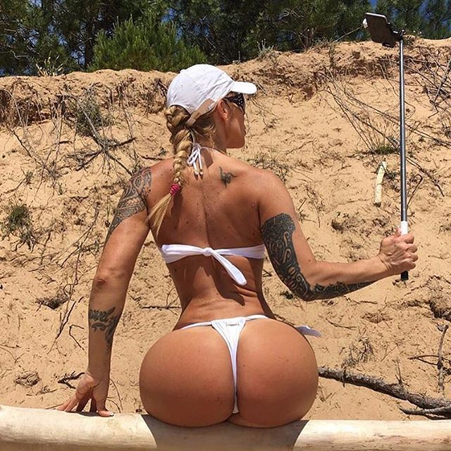 fitnessmodel #fitnessmotivation #fitnessgirl #ass #culo #blondehairs