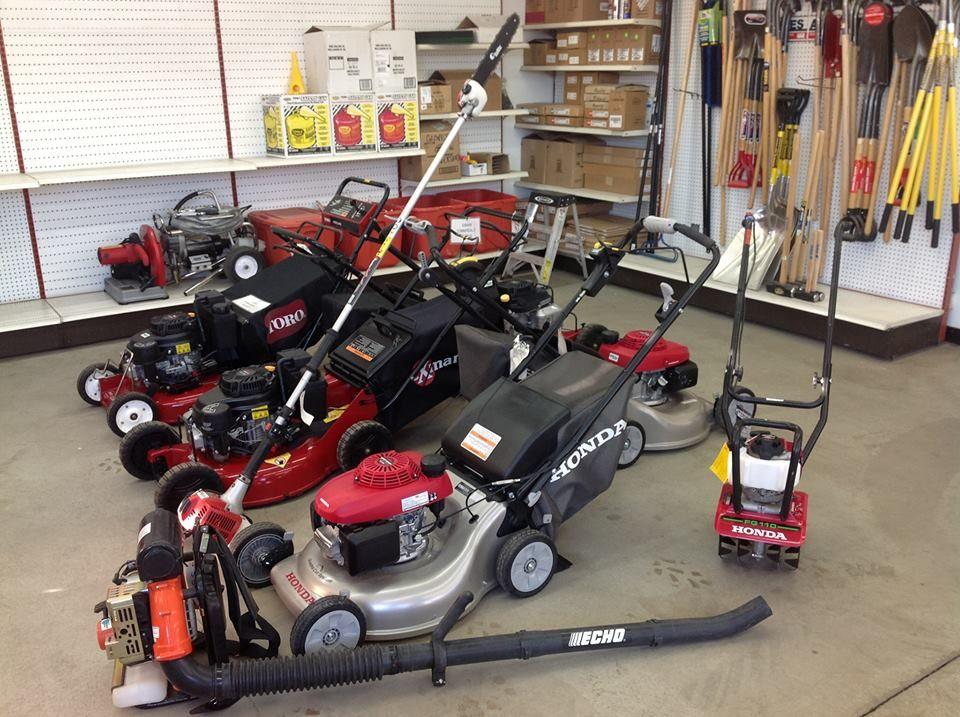 Home and garden equipment at Target Rental Garden