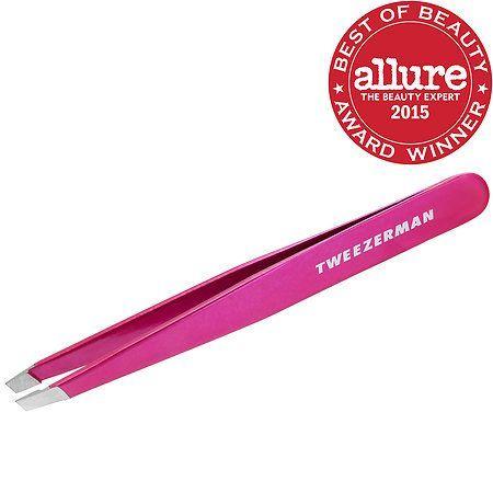 Pink Perfection Slant Tweezer - Tweezerman | Sephora