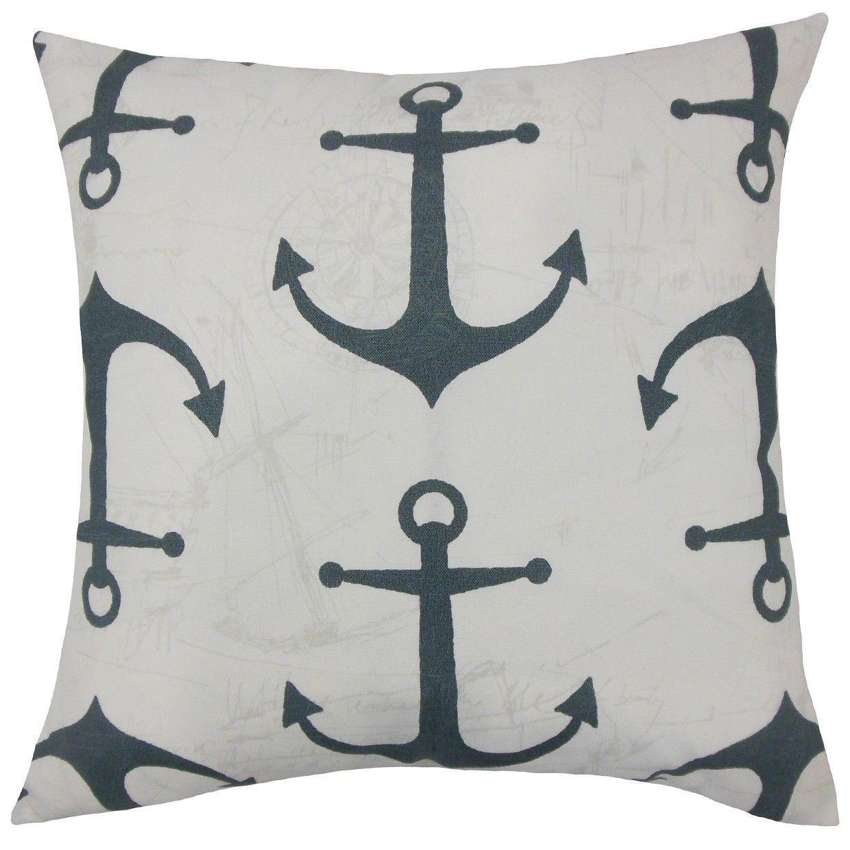 Finnegan Coastal Throw Pillow