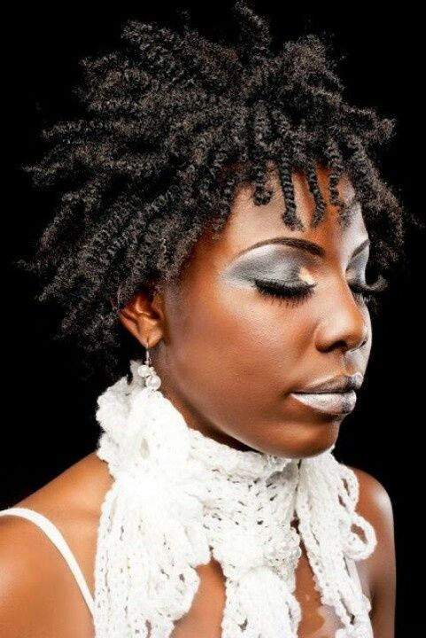 Striking Natural Hair Looks For The 2015 Bride: Lady In Striking #twists #naturalhairstyle Loved By