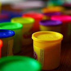 Use Play-Doh with your middle school students on the first day of school!
