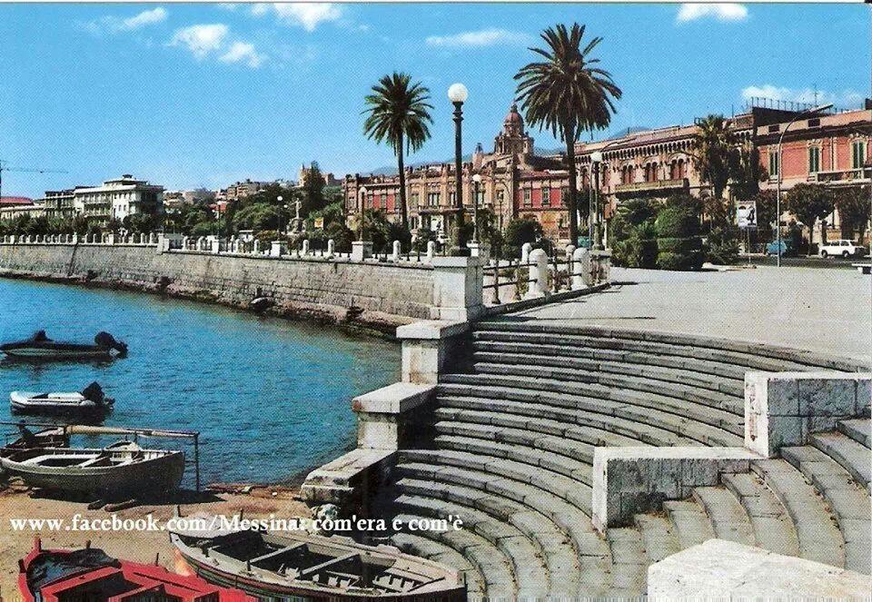 Lungomare Messina anni '70