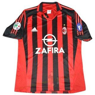 Home Maglia AC Milan Vintage 2005 2006 Rosso Kit Calcio Completi ...