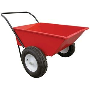 Garden Carts U0026 Wagons   EZ Haul All Purpose Red Metal Wagon