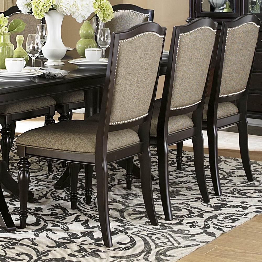 Homelegance Marston Side Chair w/ Neutral Tone Fabric