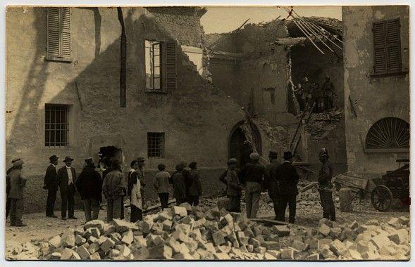 Bombardamento di Rimini operato dalle navi austriache il 18 giugno 1915