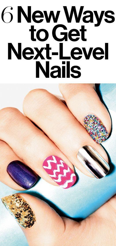 6 New Ways to Get Next-Level Nails | Beauty tricks, Nail nail and ...