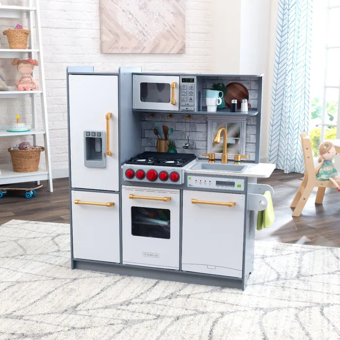 Uptown Elite White Play Kitchen with EZ Kraft Assembly