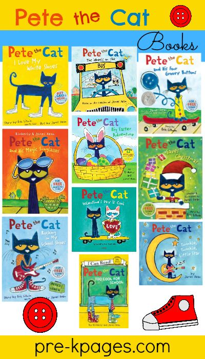 Pete the Cat Rhyming Activity in 2018 | BOOK ACTIVITIES for ...