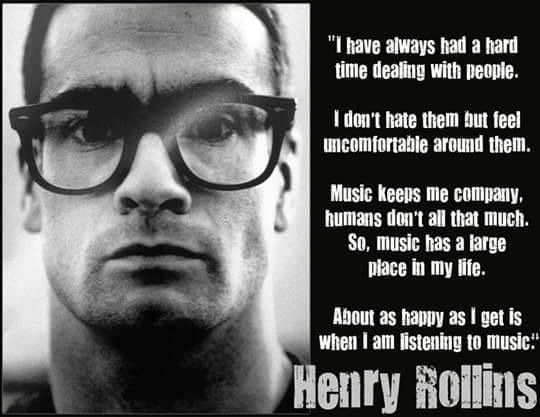 41a13409e Wise words from Henry Rollins of Black Flag | MUSIC | Henry rollins ...