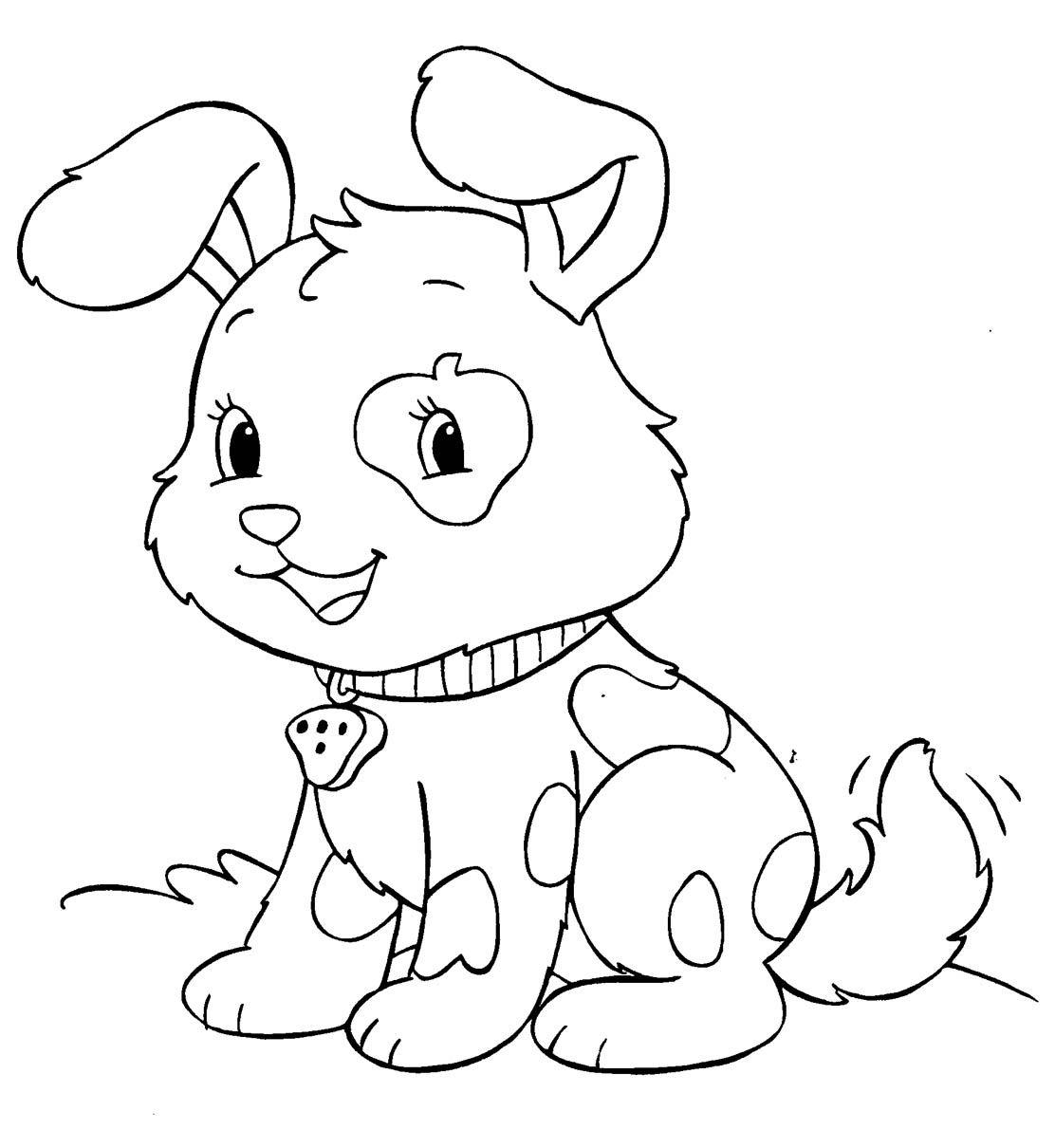 Malowanki Pies Pies Psy Malowanki Do Wydruku Darmowe