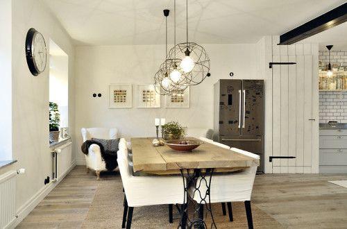 Mesa de madera estilo rústico | Deco - estilo rústico | Pinterest ...