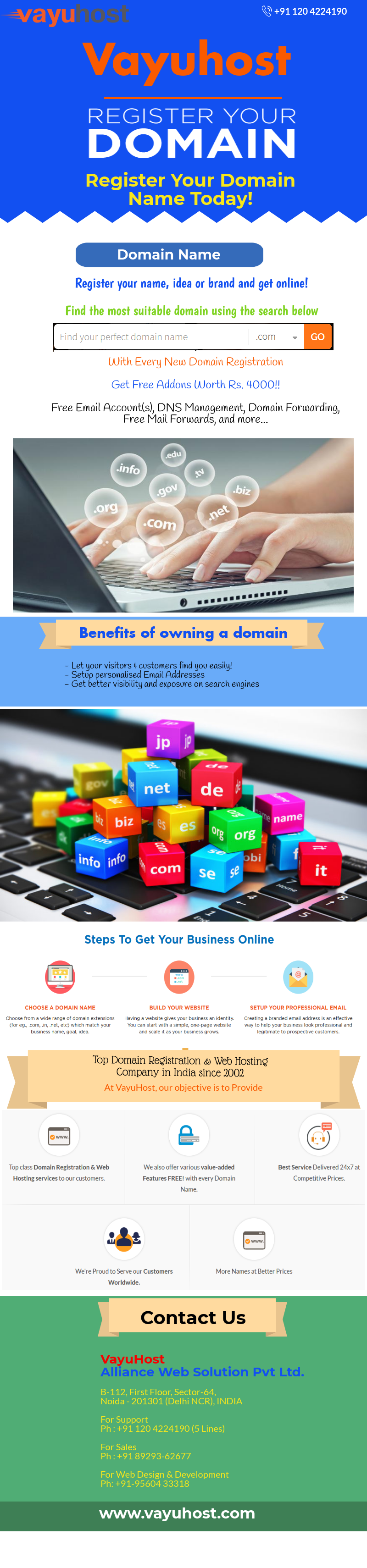 Domain Registration In India Domain Registration Hosting Company Domain
