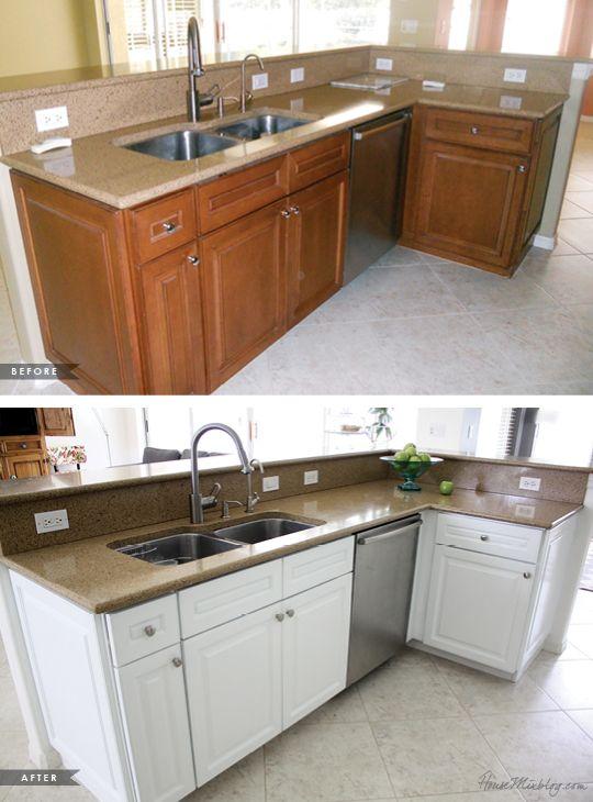 Schöne Malerei Küchenschränke Weiß Malerei Küchenschränke Weiß - Die ...