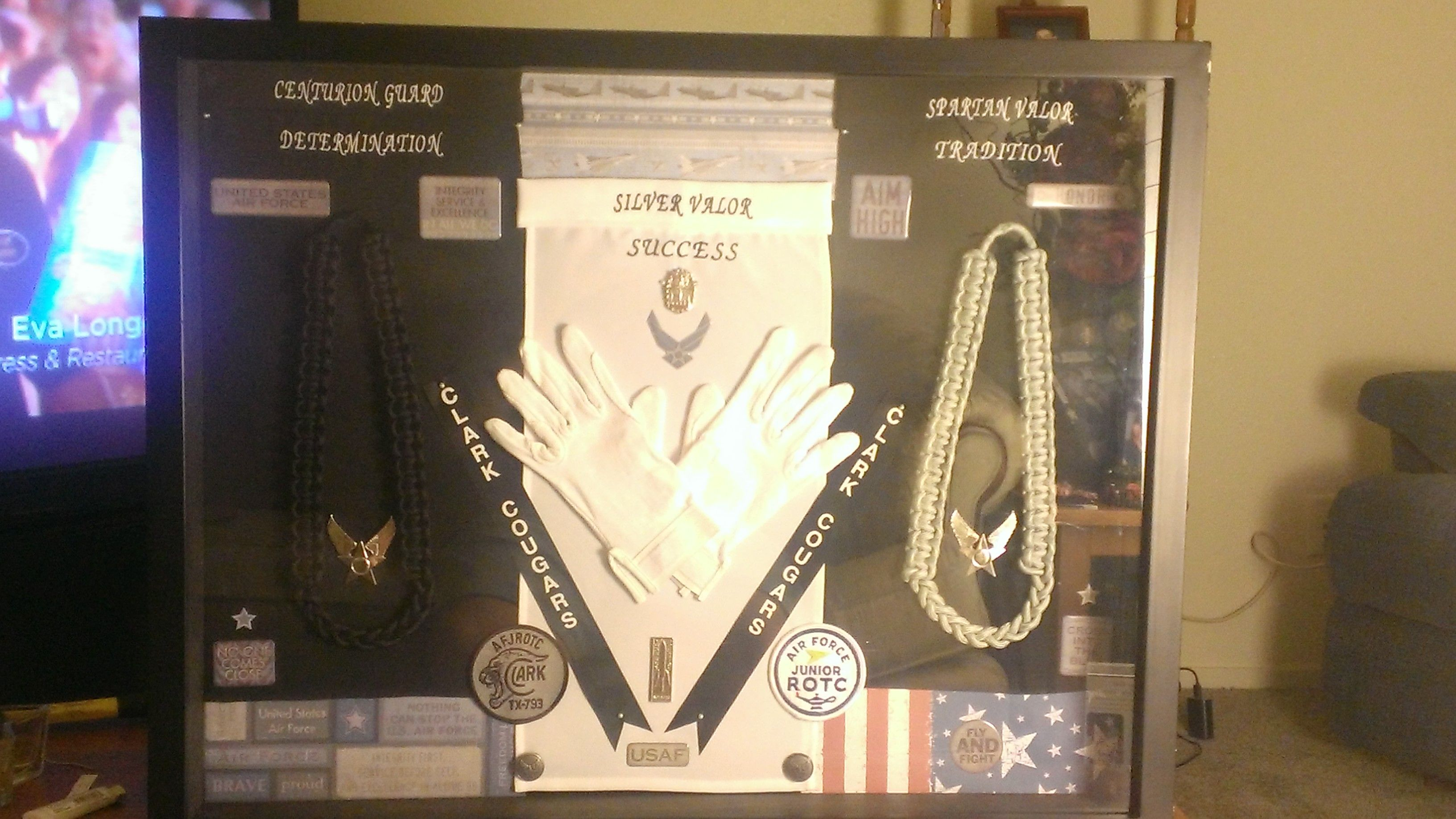 Military Rank Poster Army Navy USAF USMC USCG from