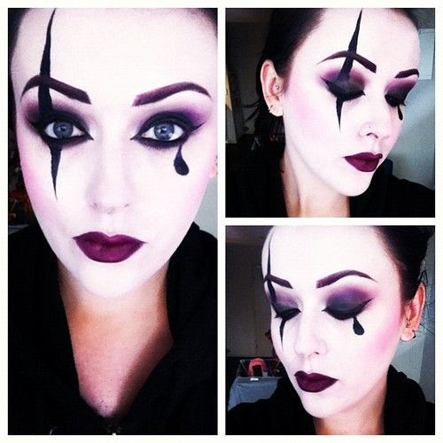 Maquillage De Pierrot Et Colombine Photo 21 Ma Folie Des F Tes Pinterest Makeup